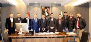 Germencik Belediye Başkanı Akın işadamlarını ağırladı