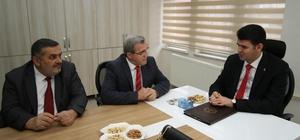 Meclis üyelerinden yeni atanan Kaymakam'a ziyaret