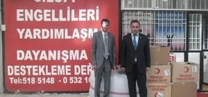 Türk Kızılayı'ndan engellilere yardım