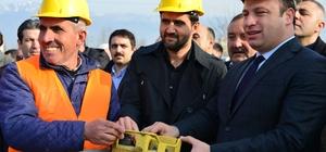 Erbaa'da yeni itfaiye binası için temel atma töreni