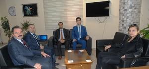 Kaymakam Uçar'dan Müdür Ceylani'ye ziyaret