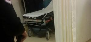 Hasta yakını acil tıp teknisyenini rehin aldı