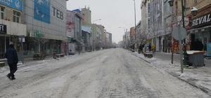 Kars'ta karla mücadele çalışmaları