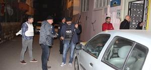 Gaziantep'te bir kişi 2 komşusunu rehin aldı