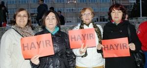 Burdur'da CHP'den anayasa protestosu