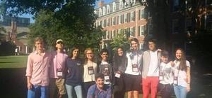 Yale Üniversitesin'de Türkiye'yi temsil eden GKV'li