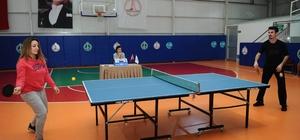 Karşıyaka Belediyesinin personelleri turnuvada buluştu
