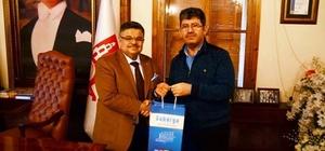Sakarya Gazetesi Yazı İşleri Müdürü Erdal'dan Başkan Yağcı'ya ziyaret