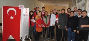 Aydınlı gençlerden Kızılay'ın azalan kan stoklarına destek