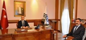 Yeni göreve başlayan Müdür Vekili Macit Malatya Valisi Toprak'ı ziyaret etti