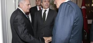 Başkan Karaosmanoğlu, Başbakan Binali Yıldırım'la görüştü