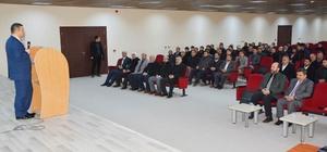 Viranşehir Kaymakamı Ömer Çimşit Din Görevlileri İstişare Toplantısına katıldı