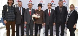 Vali Aktaş, TEOG Türkiye birincisini ödüllendirdi