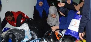 Çeyizlerini Suriyeliler için sattılar