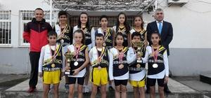 Taytanlı öğrenciler krosta Manisa şampiyonu oldu