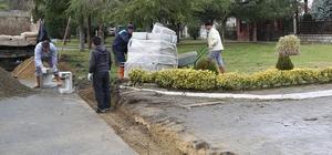 Sapanca Belediyesi yağmur suyu çalışmasına devam ediyor