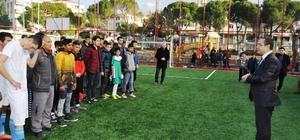 Ayvalık'ta 'İmkan Bizden Oynamak Sizden' futbol turnuvası finalleri gerçekleşti