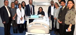 ADÜ Diş Hekimliği Fakültesi 1000'inci hastasını kabul etti