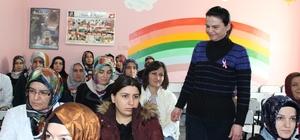Battalgazi Belediyesi bayanlara yönelik bilgilendirme toplantıları yapıyor