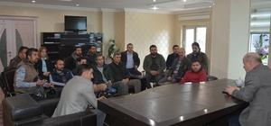 Başkan Aşan, gazetecilerle bir araya geldi