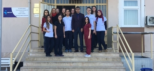 Salihlili öğrenciler İspanya yolcusu