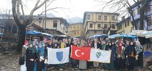 Boşnak imam hatip öğrencileri Bursa'da