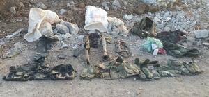 Nusaybin'de silah ve mühimmat ele geçirildi