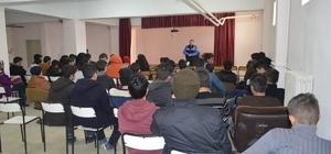 TDP Polislerinden lise öğrencilerine söyleşi
