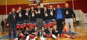 Yıldız Erkek Basketbolde Buhara Ortaokulu Adana birincisi