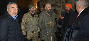 "Samet Aybaba ""Bordo Bereliler Suriye"" setinde"