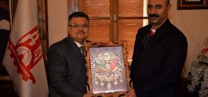 SGK İl Müdür Yardımcısı Gülmez'den Başkan Yağcı'ya veda ziyareti
