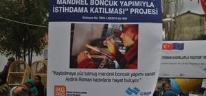 omanlara yönelik 'Boncuk' projesi istihdama katkı sağlayacak