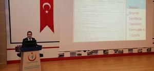 Dr. Mahmut Uçar, Beyaz Bayrak ve Beslenme Dostu Okul Projeleri hakkında koordinatörleri bilgilendirdi