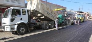 Adana'da Karafatma Caddesi asfaltlandı