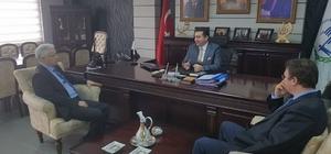 TCDD Bölge Müdürü Nihat Aslan'dan Başkan Bakıcı'ya ziyaret