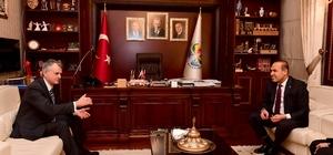 Kanada Büyükelçisi'nden Sözlü'ye ziyaret