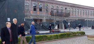 Meydan Parkı'nda ikinci etap turizm sezonu öncesinde tamamlanacak