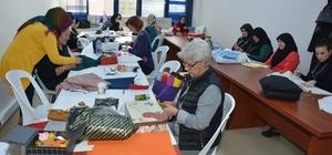 İzmit'te keçe kursuna 80 kişi katılıyor