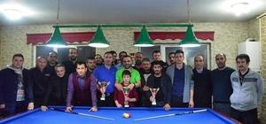 Bilardonun şampiyonları ödüllendirildi