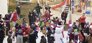 Bodrum'da çocuklara karne hediyesi kar oldu