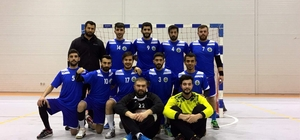 Adıyaman Üniversitesi Hentbol Takımı yarı finale yükseldi