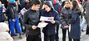 Sorgun'da öğrenciler karne heyecanı yaşadı