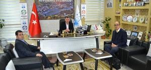 Yutong fabrikası yetkililerinden Başkan Duymuş'a ziyaret
