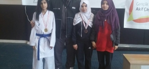 Şahinbey Belediyesi sporcuları turnuvaya damga vurdu