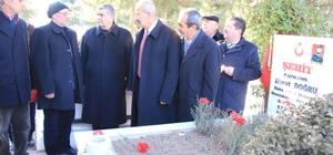 MHP'liler Şehitliği Ziyaret Ettiler