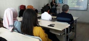 Yenişehir Gençlik Merkezinde madde bağımlılığı semineri