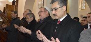Şehitler için okunan hatimlerin duası yapıldı