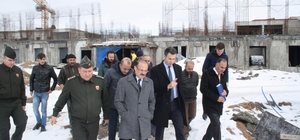 3 bin 800 kişilik Yozgat Kapalı ve Açık Cezaevi inşaatı hızla sürüyor