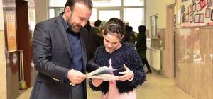Başkan Doğan, kızının karne heyecanına ortak oldu