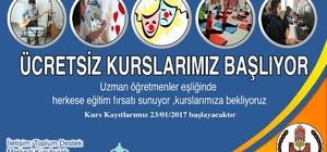 Bitlis Belediyesinden yeni kurslar